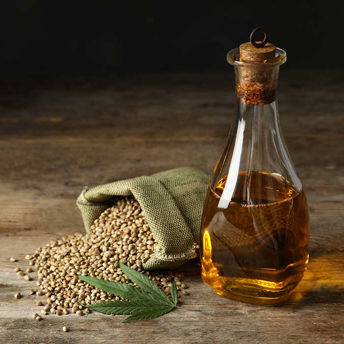 Hemp seed oil from e-Oil