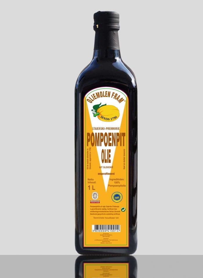 Pumpkin seed oil from e-OIL - 1Ltr bottle